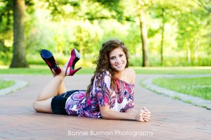 Senior Portrait by Bonnie Burman