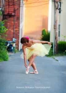 Pittsburgh Senior Portrait of a dancer