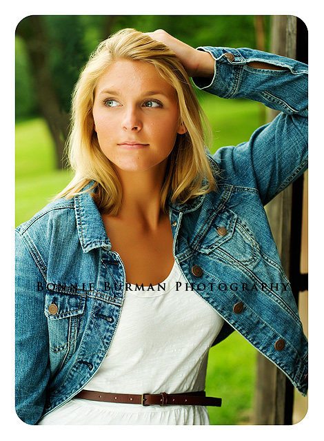Senior Portraits of North Allegheny 2012 high school senior Kally