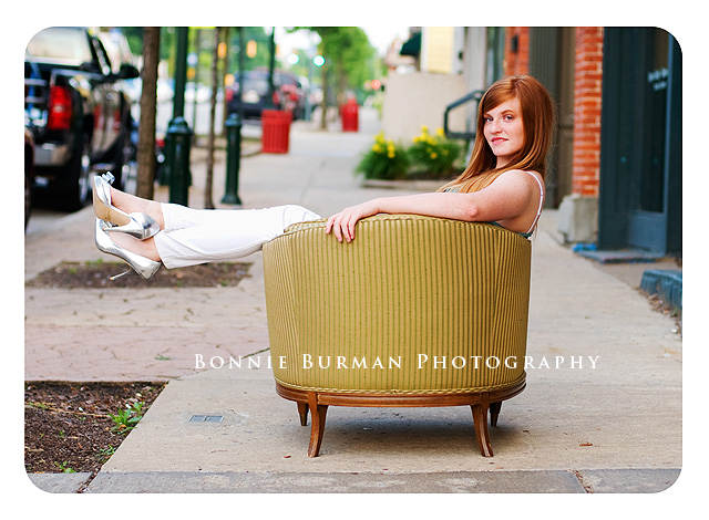 Butler PA, Pittsburgh, Slippery Rock Senior Portrait Photographer Bonnie Burman