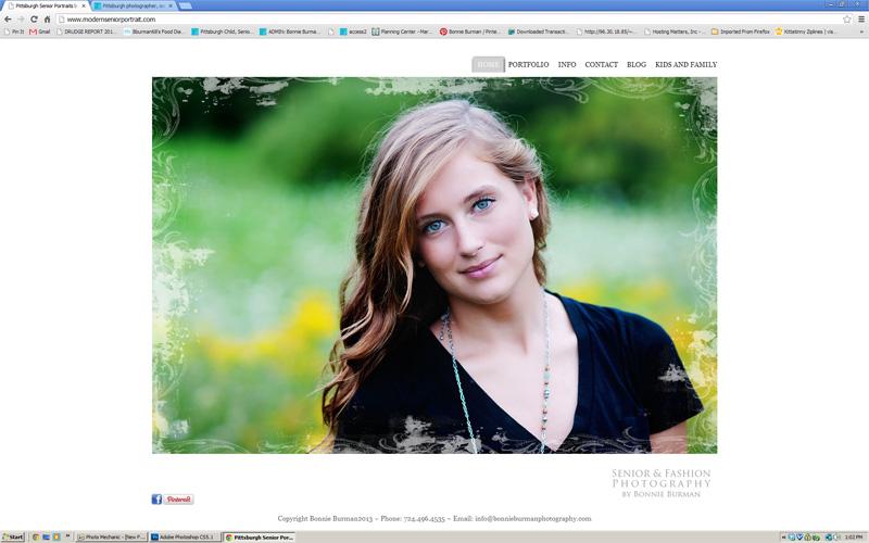Pittsburgh Senior Portrait Website